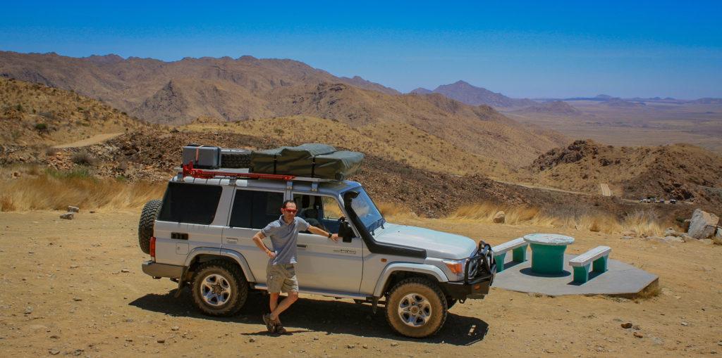 Namibia-Truck